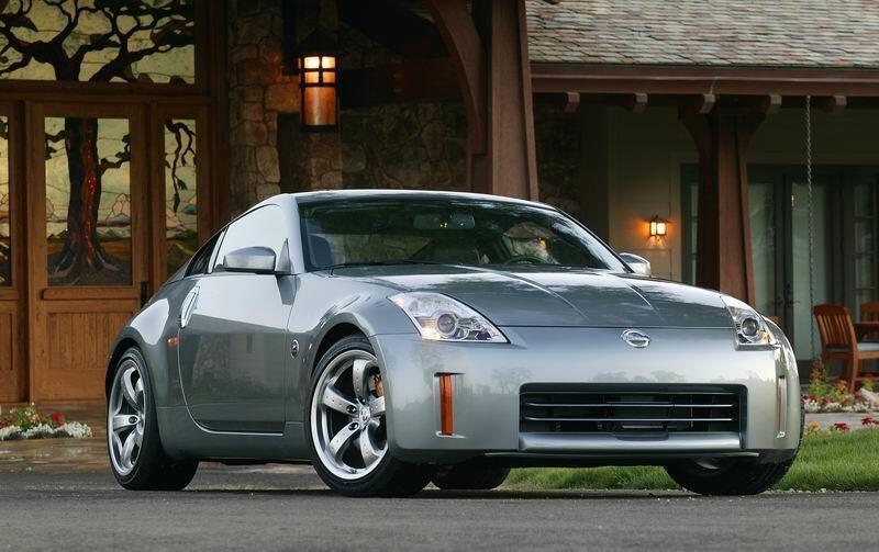2. Nissan 350Z: Según el estudio, e deportivo de Nissan fabricado entre...
