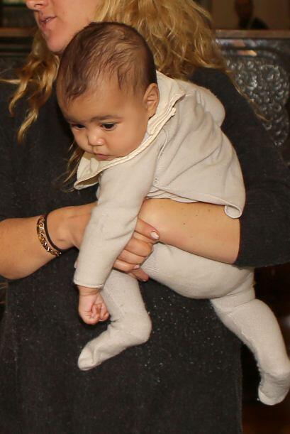 La hija de Kim y Kanye West siempre anda a la moda. Mira aquí los videos...