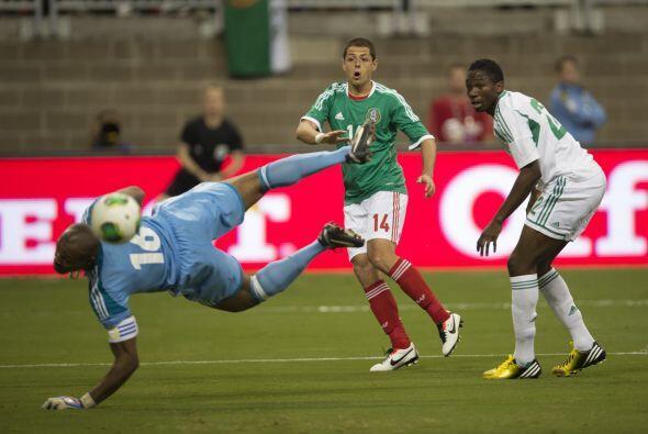 El segundo juego amistoso fue el 31 de mayo contra Nigeria. El duelo se...