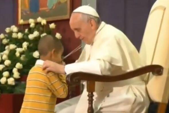 Pero no ha sido la primera vez que Francisco demuestra que le gusta el c...