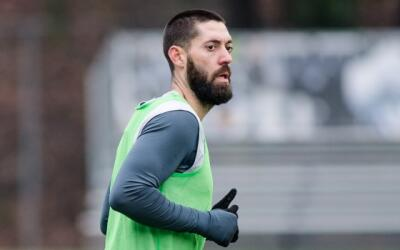 Clint Dempsey con Sounders