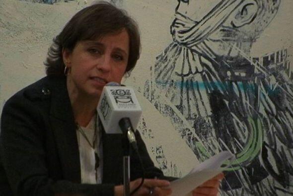En una esperada conferencia de prensa, esta mujer habló de su salida de...