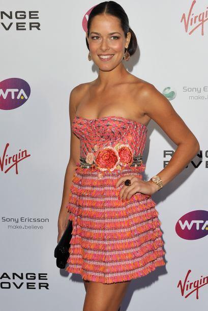 En 2007, Ana Ivanovic llegó a las semifinales de Wimbledon y lo m...
