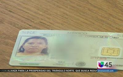 Nueva Matricula Consular para mexicanos