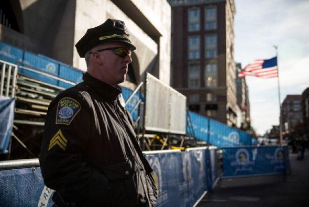 Boston ya está repleto de banderas, escaparates y carteles con los color...
