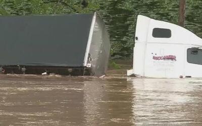 Devastadoras inundaciones en Virginia