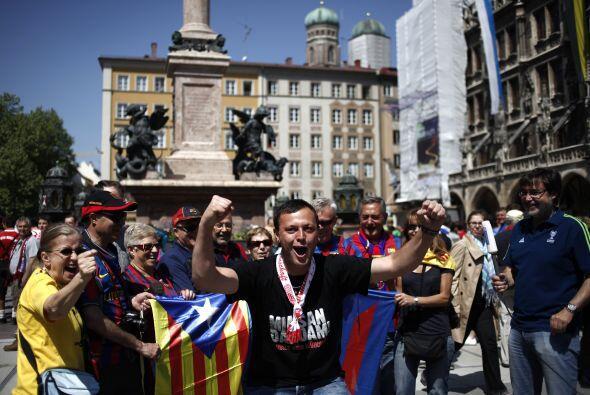 Muchos españoles habían comprado su entrada con anticipaci...