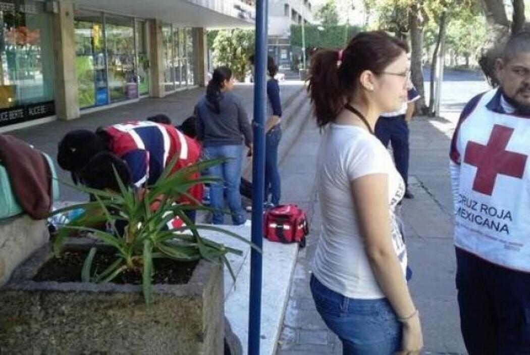Grupos de la Cruz Roja han estado monitoreando la ciudad por si se prese...