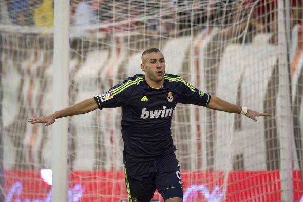 Karim hiló su segundo partido marcando anotación.