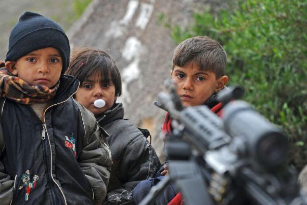 Sí se sabe, de acuerdo a la organización Save the Children, que en Irak...