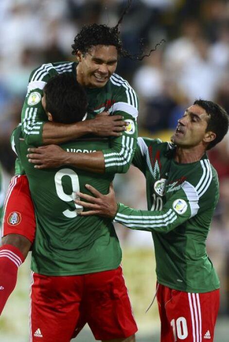 México ganó 4-2 en Nueva Zelanda con un 'hat-trick' de Oribe Peralta y d...