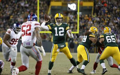 Rodgers vs Giants