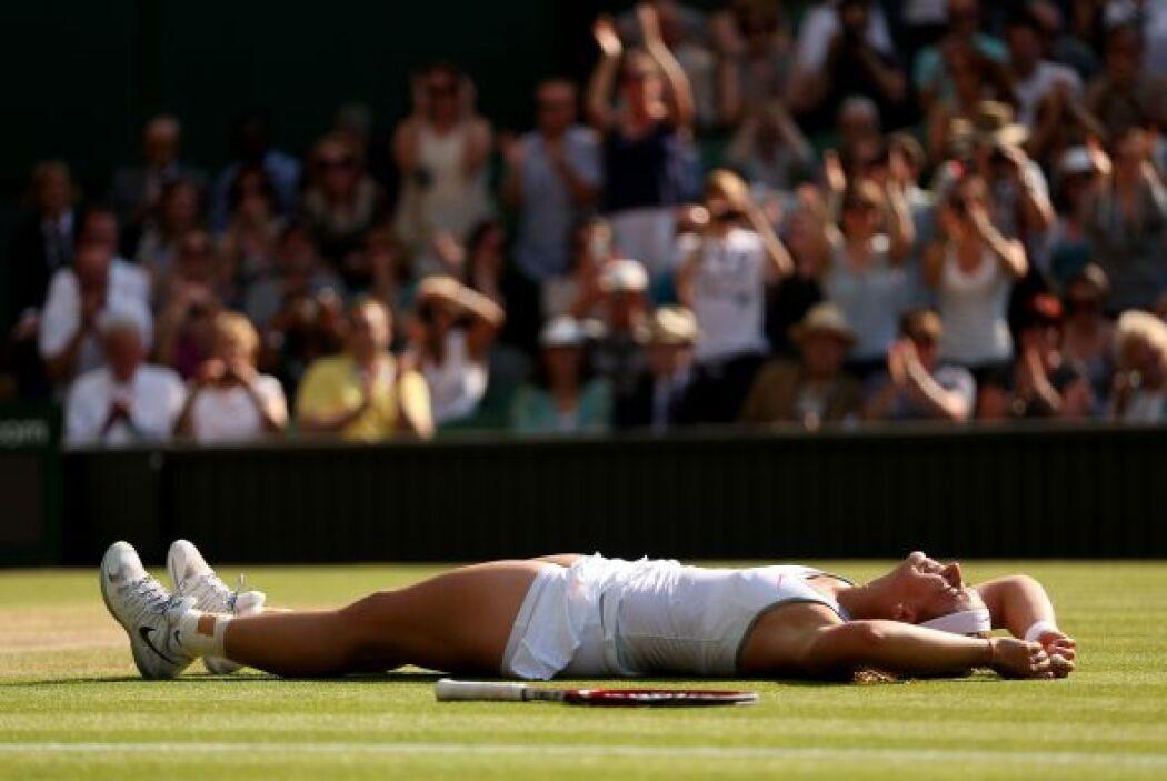 Lisicki volvió a sorprender, tras eliminar a la uno del mundo Serena Wil...