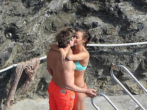 La modelo rusa Irina Shayk y el actor estadounidense  Bradley Cooper fue...