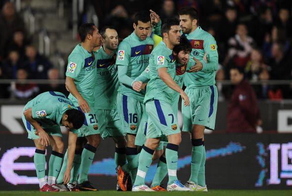 El Barcelona goleó 3 a 0 al Mallorca, jugando de visitante, y se...