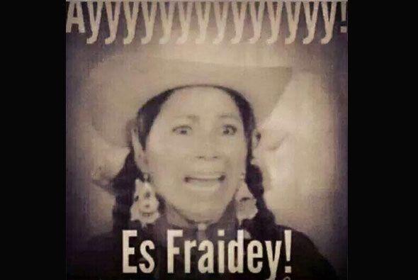 """Perdón, ¡""""fraideys""""!"""