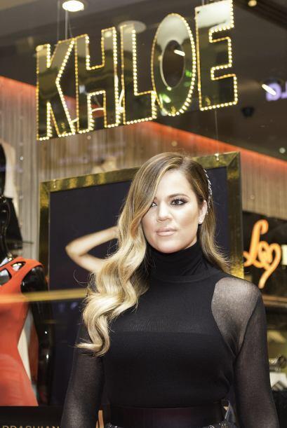 La imagen Khloé Kardashian está en su mejor momento, en co...
