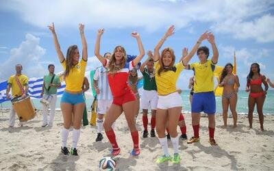 Una probadita del video del Mundial de fútbol del Gordo y La Flaca