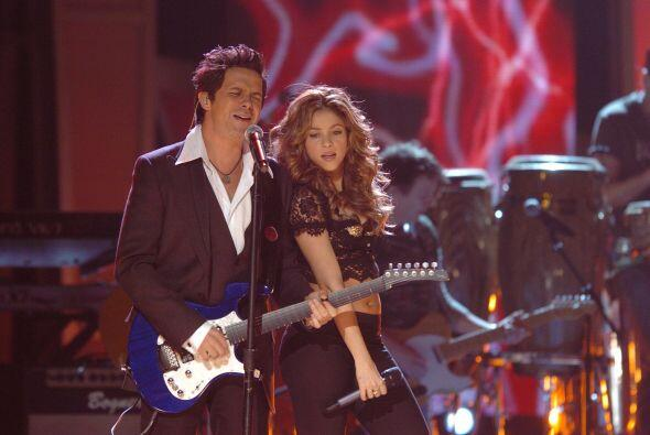 En 2006 el escenario de Latin GRAMMY se calentó al máximo con este dueto...
