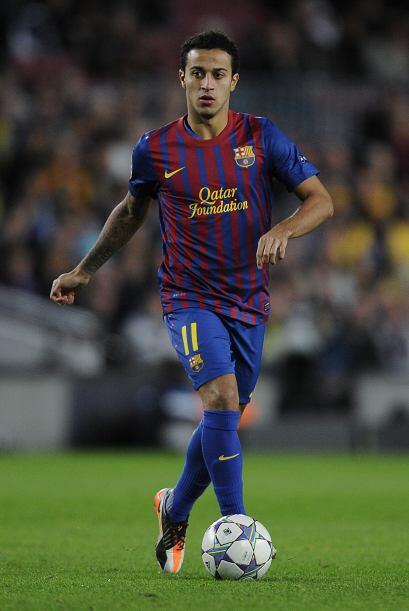 Thiago es el futuro del Barcelona. Va sumando minutos en  el primer equi...