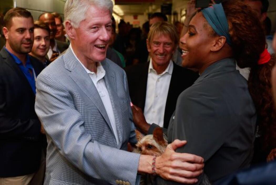 Clinton con Serena Mira aquí lo último en chismes.
