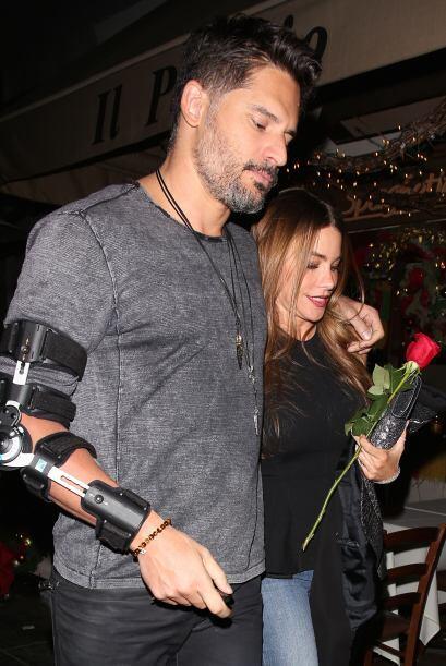 Mira más imágenes de su paseo romántico.