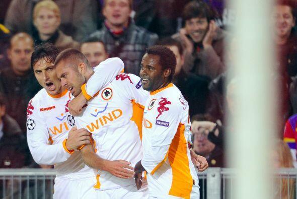 Roma revivió en el Grupo E gracias a un triunfo a domicilio ante...