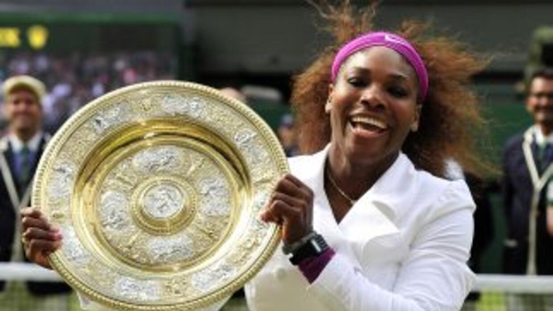 Serena sumó su quinto entorchado en el All England Club igualando así a...
