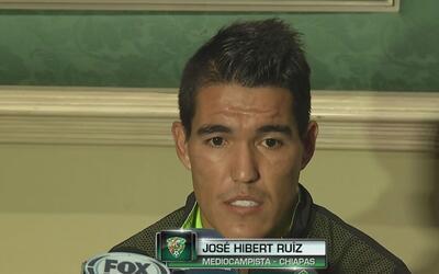 Hibert Ruíz confesó que el dinero que les deben en Jaguares merma el ren...