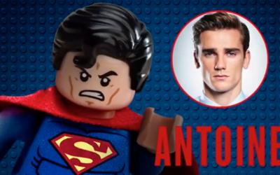 Antoine Griezmann como Superman