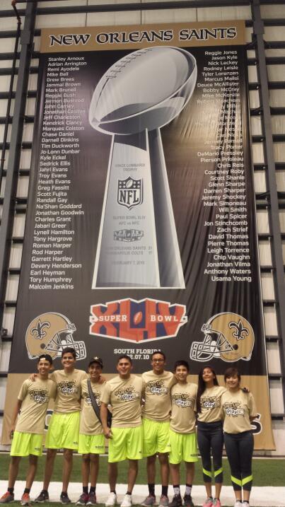 Campeón de NFL Tochito de México fue premiado con viaje al Superdome de...