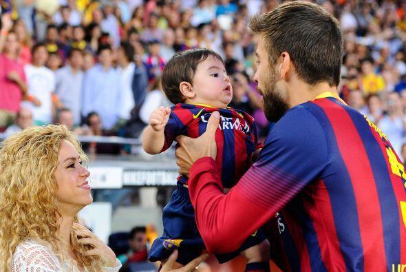 ¿Qué niño no desearía ser hijo de un astro del fútbol?