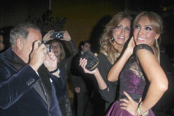 Lili Estefan se encontró con su gran amiga Thalía.