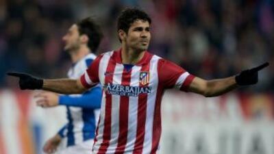 Diego Costa se destapó como goleador con el Atlético y el Chelsea.