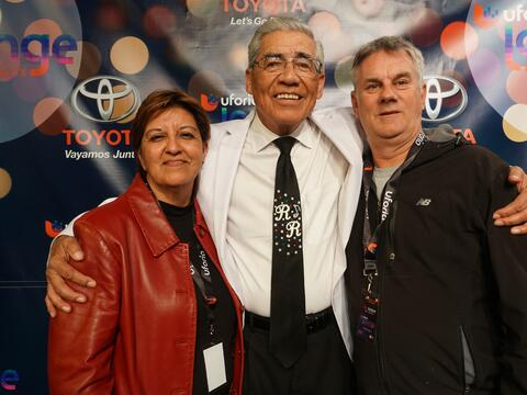 Lucky KXTN 107.5 Listeners Got Their Chance To Meet Ruben Ramos After Hi...