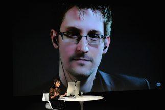 Snowden durante una entrevista realizada en 2014.