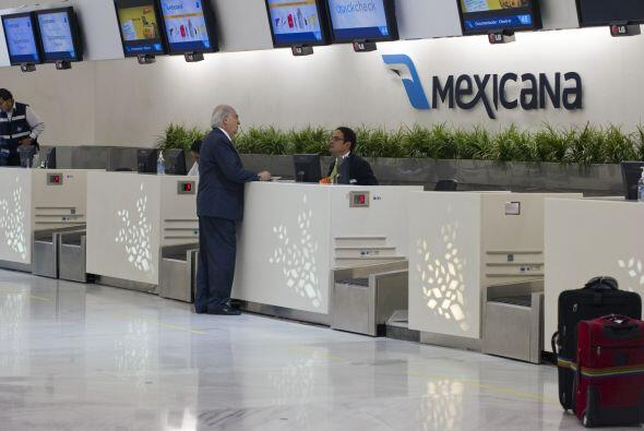 """21. MEXICANA SIGUI"""" SIN EMPRENDER EL VUELO- A pesar de que la compañía M..."""