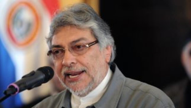 El presidente de Paraguay, Fernando Lugo, descartó que vaya a presentar...