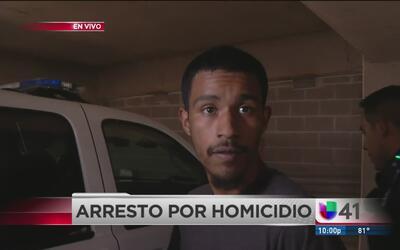 Arrestan a sospechoso de homicidio