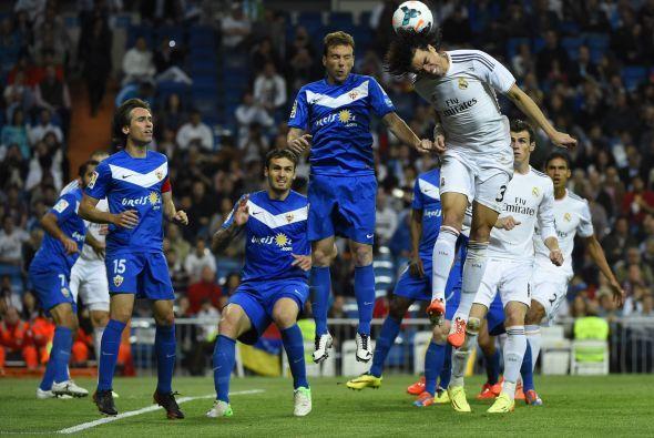 El Madrid tuvo la posesión del esférico el 61% del tiempo.