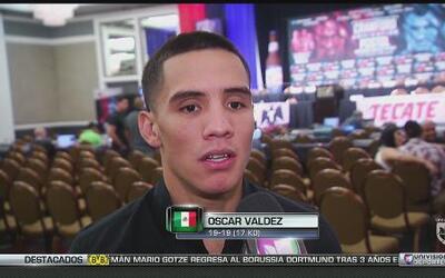 """Oscar Valdez: """"No me puedo confiar de Matías Rueda"""""""