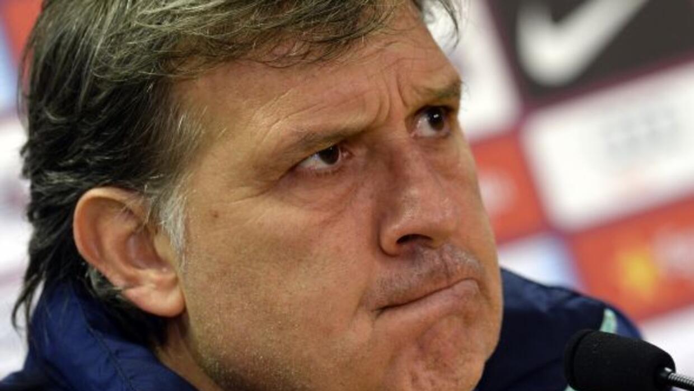 Gerardo Martino sabe que Barcelona necesita los tres puntos ante el Real...