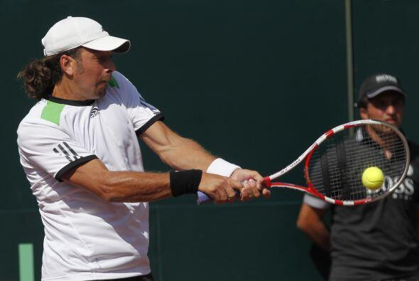 El mismo Roddick dio el primer punto para Estados Unidos al vencer en la...