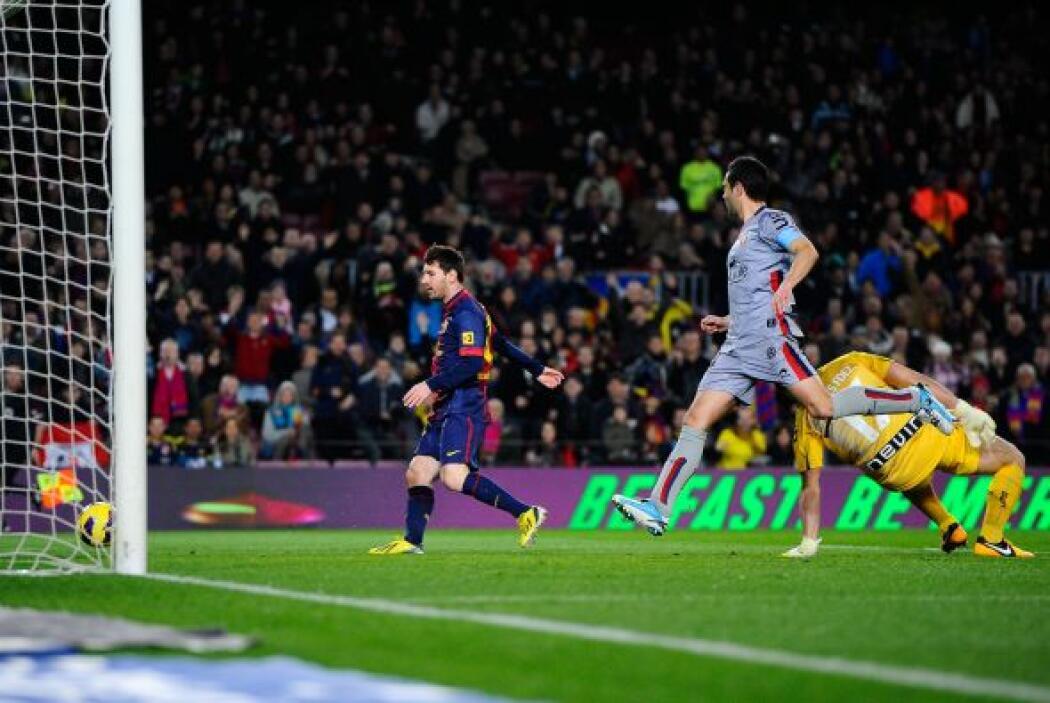 Así fue como consiguió el cuarto tanto del Barcelona, tercero de su cuen...