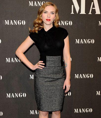 Scarlett JohanssonPasó de ser una joven actriz con labios carnoso...