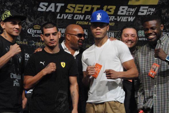 En las primeras peleas estrá el hermano de Marcos MAidana, Fabián, el pr...