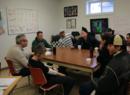 Sesión en el centro para adictos a las drogas Hope, New Hampshire