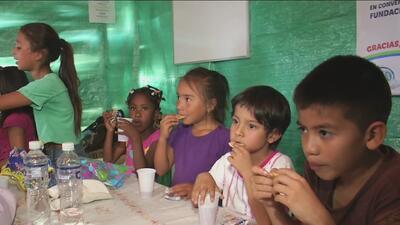 Una fundación cuida niños en extrema pobreza