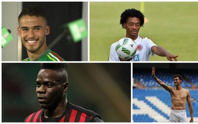 Diego Reyes, Cuadrado, Balotelli y Arbeloa fueron algunos de los que enc...