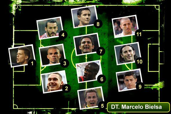 En esta semana aquí están los 11 jugadores más destacados, junto con un...